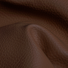 Outdoor beanbag in brown imitation leather